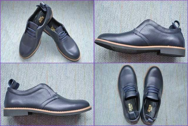 Строгі класичні туфлі для хлопчиків на шнурках фото
