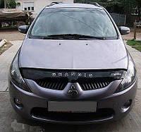 Дефлектор капота мухобойка Mitsubishi Grandis  с 2003–2011 г.в.