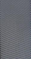 Защитно декоративная сетка для бампера и радиатора Sahler №1, 100*40 см  черная без упаковки