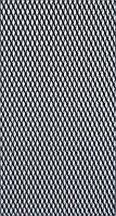 Защитно декоративная сетка для бампера и радиатора Sahler №2, 100*40 см черная без упаковки