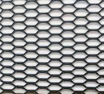 Сетка бампера  Elegant №6 1м х30 см черная EL 511036/1