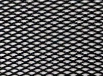 Сетка бампера Elegant №1 1м х30 см черная EL 511031/1