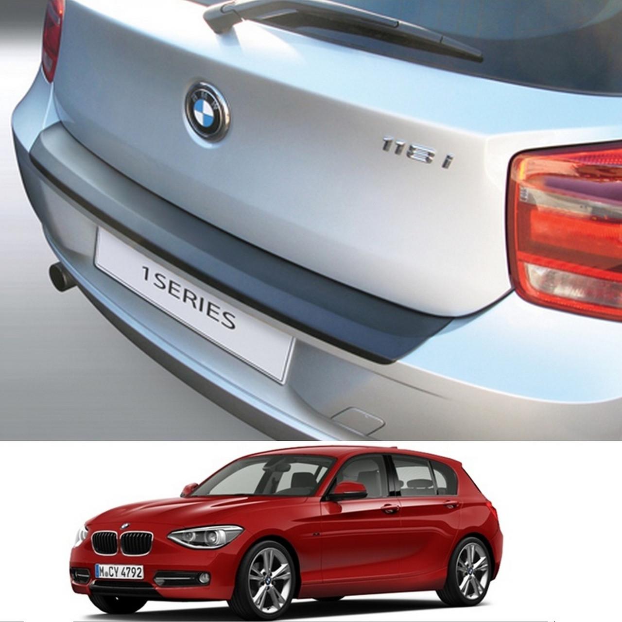 BMW 1-series F20 2011-2015 пластиковая накладка заднего бампера