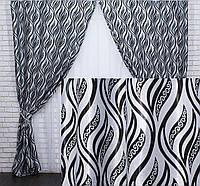 Модные шторы для гостиной интернет магазин плотные 90