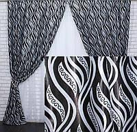 Красивый комплект штор для гостиной интернет магазин 90