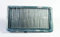 Заглушка бампера Левая L (меньшая) VW Golf III, VENTO 08.91-04.99, DEPO