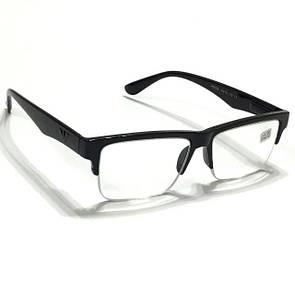 Мужские полуоправные очки с диоптриями