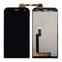 Дисплей для Asus ZenFone Zoom (ZX551ML) с тачскрином черный Оригинал (тестирован)
