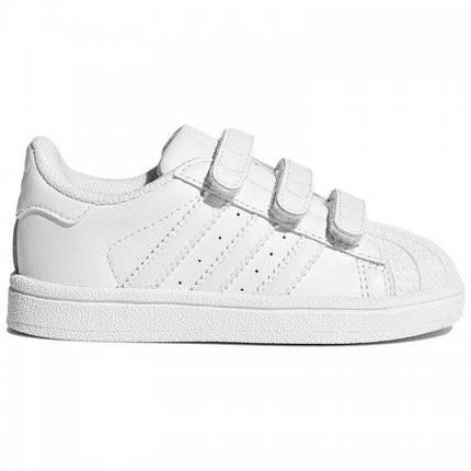 Детские Кроссовки Adidas Superstar White Белые, фото 2