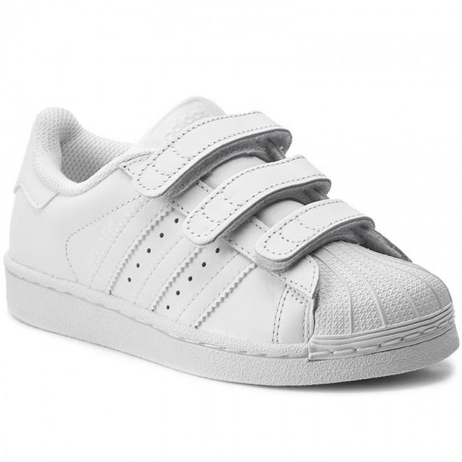 Детские Кроссовки Adidas Superstar White Белые
