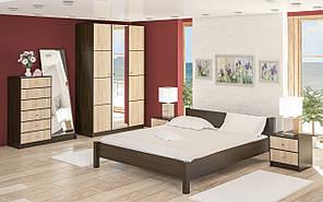 Меблі в спальню Фантазія (венге \ дуб сонома)