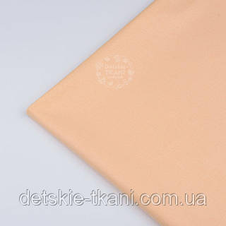 Лоскут ткани №1238  цвет нежно-персиковый