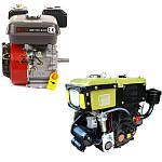 Какой мотор к мотоблоку экономнее и надежнее? Бензиновый или дизельный?