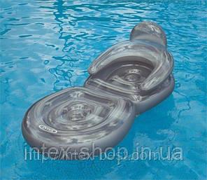 Пляжное надувное кресло — шезлонг Intex 58867, фото 2