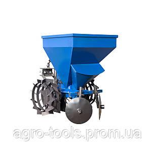 Картофелесажалка к мототрактору с бункером для удобрений(КС13), фото 2
