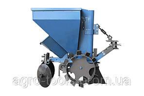 Картофелесажалка к мототрактору с бункером для удобрений(КС13), фото 3