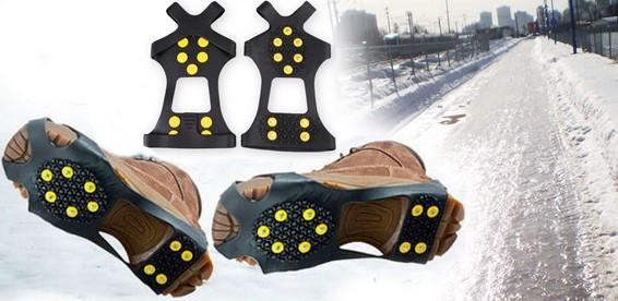 Ледоступы на обувь на 10 шипов