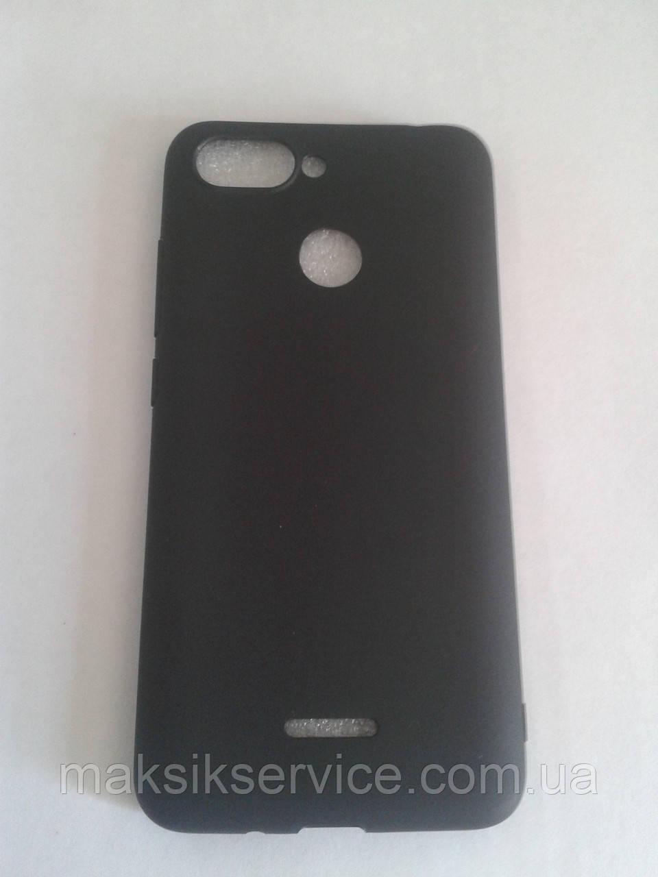 Чехол накладка на Xiaomi Redmi 6  черный