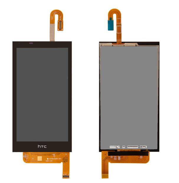 Дисплей для HTC Desire 610 с тачскрином черный Оригинал