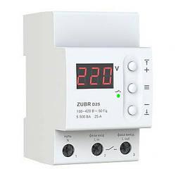 Реле напряжения ZUBR D63t  с термозащитой