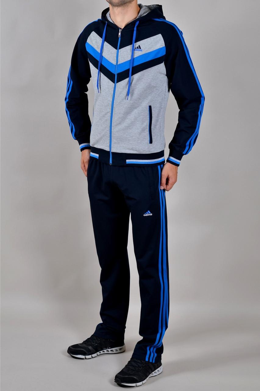 3c47bcbd38c10 Спортивный костюм Adidas светло-серый реплика - Брендовая одежда от интернет -магазина «Trendy