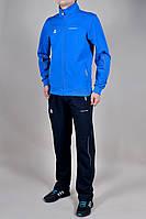 Спортивный костюм Adidas 9021 батал голубой