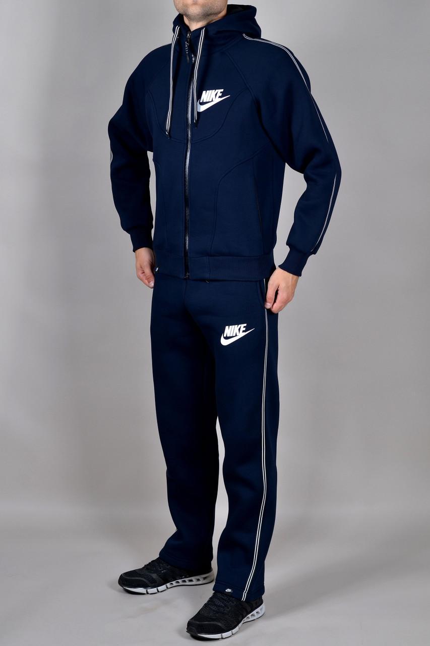 f61baad9 Зимний спортивный костюм Nike темно-синий - Брендовая одежда от  интернет-магазина «Trendy