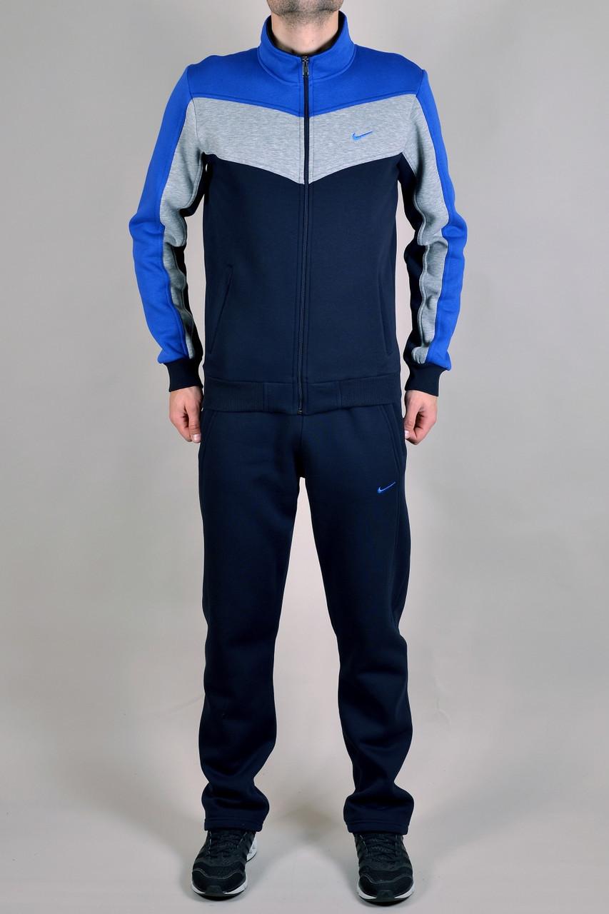 e358e4de Зимний спортивный костюм Nike 9159 темно-синий - Брендовая одежда от  интернет-магазина «