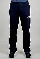 Зимние спортивные брюки Nike 9188 темно-синие