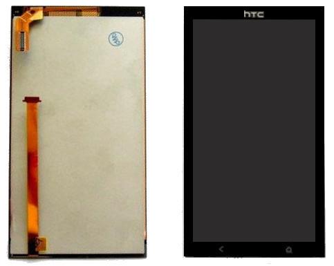 Дисплей для HTC Desire 700 Dual Sim с тачскрином черный Оригинал