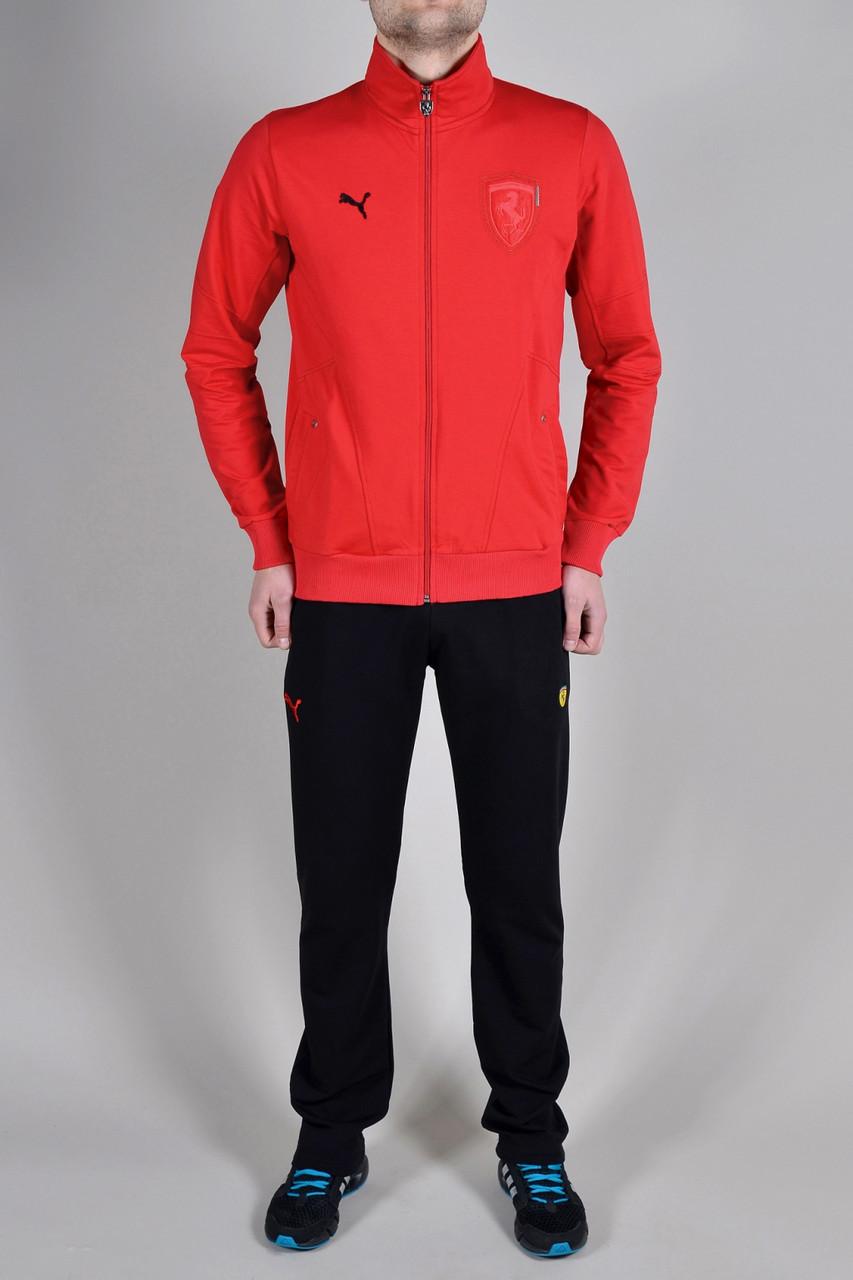 2165b6d8 Спортивный костюм Puma Ferrari мужской 9249 красный - Брендовая одежда от  интернет-магазина «Trendy