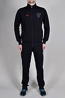 Мужской спортивный костюм Puma Ferrari 9250 черный