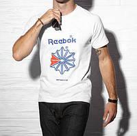 Мужская футболка Reebok 11008 белая
