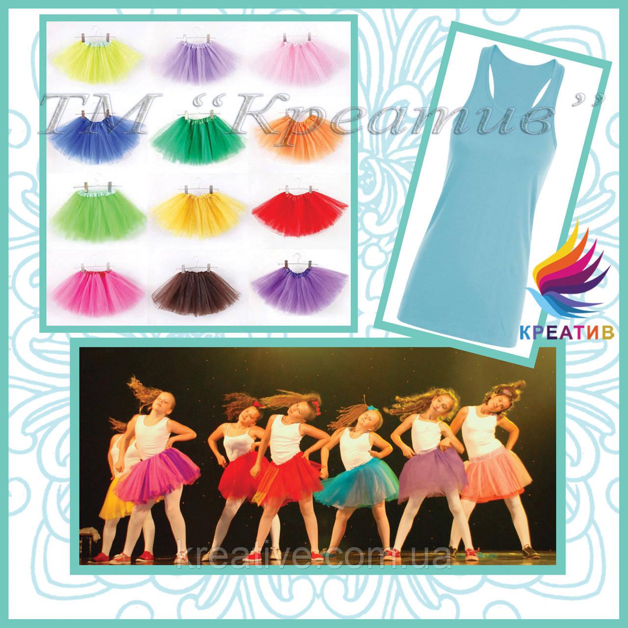 Детские юбки пачки для занятия танцами под заказ