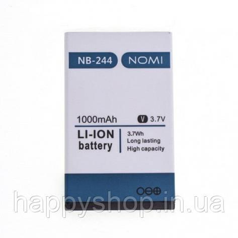 Оригинальная батарея Nomi i244 (NB-244), фото 2