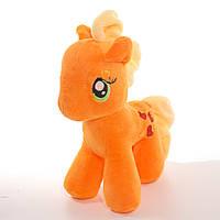 Детская мягкая игрушка,Пони,оранжевая (маленькая)