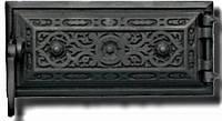 Зольные дверцы Delta R13 (240х110), фото 1