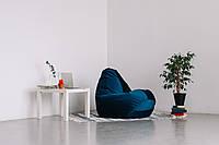 Кресло-мешок груша  120*90 см в велюре Леонис, фото 1