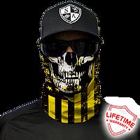 Бафф Don`t Tread Skull Yellow & Black