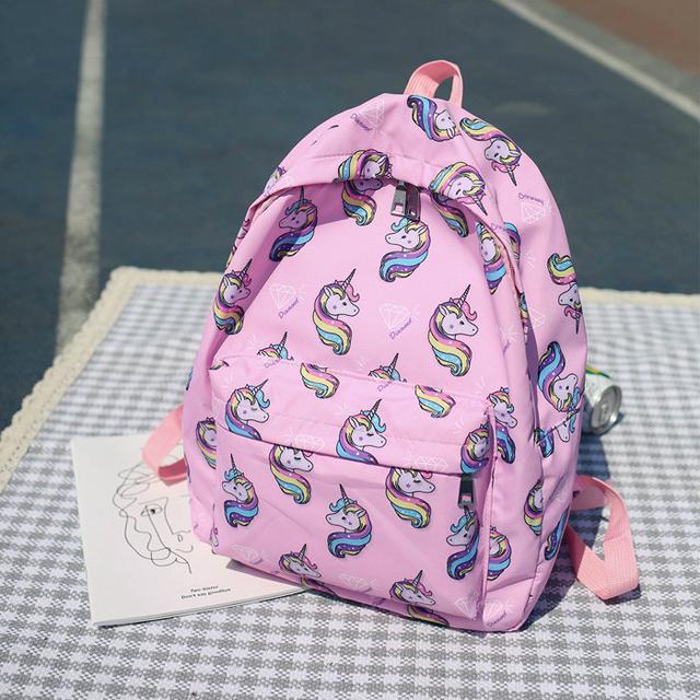 Молодежный рюкзак с Единорогами