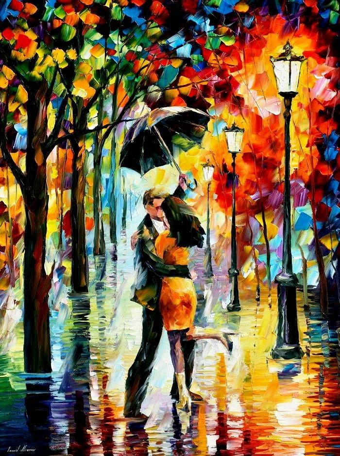 Картина по номерам Осенняя романтика, 40x50 см., Идейка
