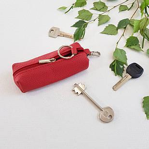 Ключница Woman's heel кожаная красная (В-459-13)
