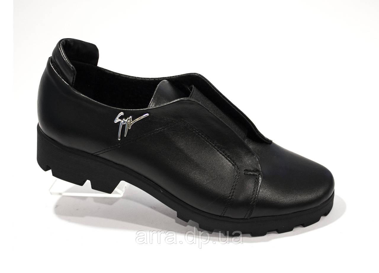 5c8b8803a Туфли кожаные с резинкой на подьеме - Интернет - магазин кожаной обуви от  фабрики производителя ARRA