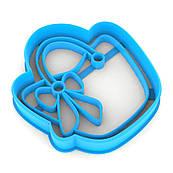 Вирубка для пряників Сумочка 7*6,5 см (3D)
