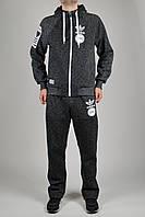 Cпортивный костюм Adidas Originals 1184 Серый реплика