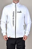 Спортивная кофта Мужская Adidas зимняя 1262 Белая