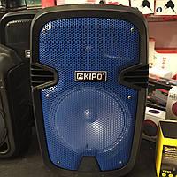 Портативная Bluetooth Колонка KIPO KB-Q5 синяя, беспроводная Кипо