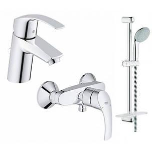 Набор смесителей для ванной Grohe Eurosmart (123244S), фото 2