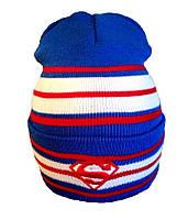 Зимняя шапка Superman 11041 в полоску