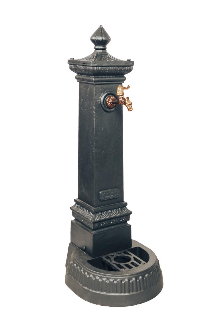 Декоративная уличная колонка для воды MILANO-125 Италия